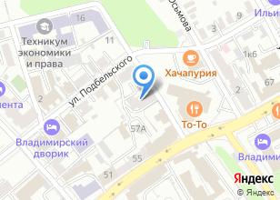 Компания «Сиверс» на карте