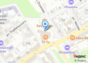 Компания «Петра» на карте