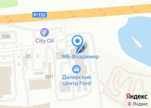 Компания «МБ-Владимир» на карте