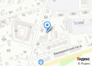Компания «Князь» на карте