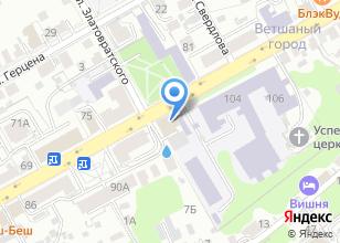 Компания «ПАТРИОТЫ РОССИИ» на карте