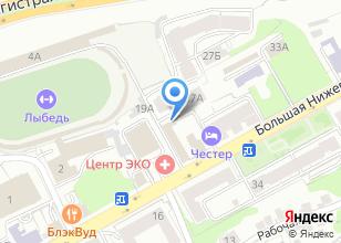 Компания «Мастерсервис» на карте