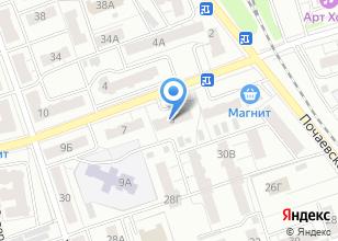 Компания «Прогресс АйТи» на карте