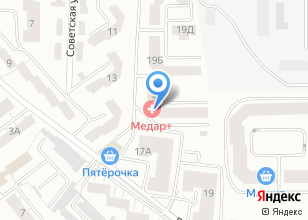Компания «Медар+» на карте