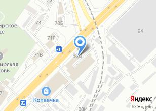 Компания «Типография на Нижегородской» на карте