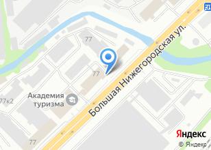 Компания «Блокформ, ЗАО» на карте