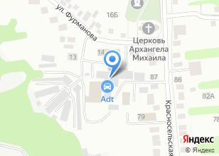 Компания «Автолом33» на карте