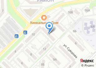 Компания «Бизнес Art продакшн» на карте