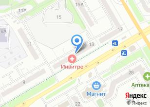Компания «Инвитро-Владимир» на карте