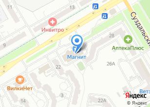 Компания «Резец» на карте