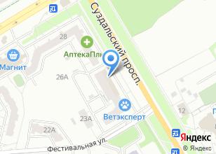 Компания «Монострой» на карте