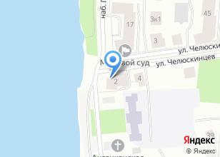 Компания «Строящийся жилой дом по ул. Набережная Георгия Седова» на карте