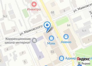 Компания «Алюр» на карте