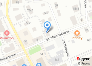 Компания «Строящийся жилой дом по ул. Маяковского» на карте