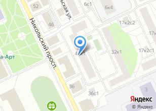 Компания «Строящийся жилой дом по ул. Никольский проспект» на карте