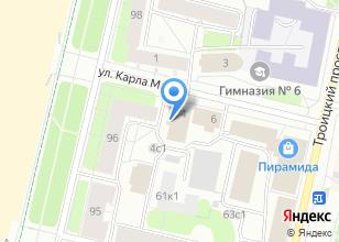 Компания «АвтоМост» на карте