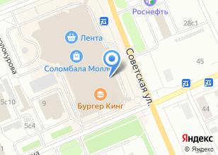 Компания «Строящееся административное здание по ул. Советская» на карте