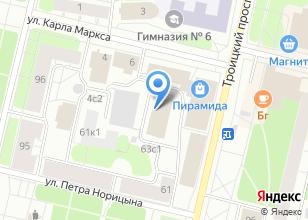 Компания «Ивека» на карте