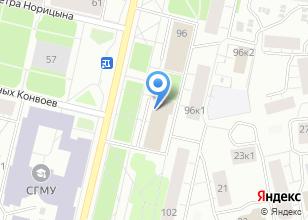 Компания «ПРОМТРАНСПРОЕКТ» на карте