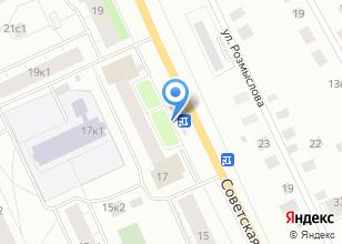 Компания «Все для домашнего уюта» на карте