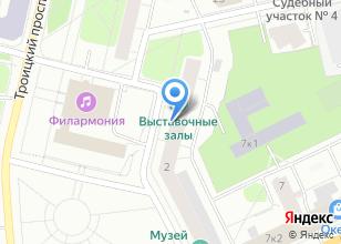 Компания «Архангельск-аэропорт» на карте