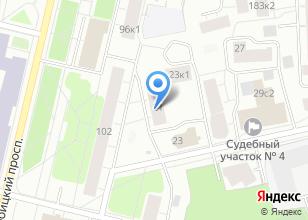 Компания «Союз профессиональных дизайнеров» на карте