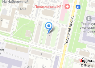 Компания «Пилигрим на Садовой» на карте