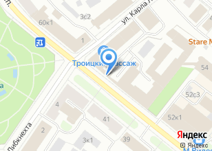 Компания «Цветочная у Театра» на карте