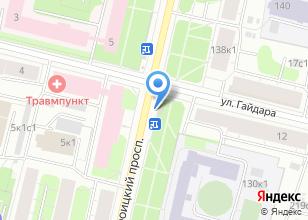 Компания «Роспечать» на карте