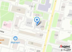 Компания «Фидес» на карте
