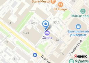 Компания «ДЕРУССА» на карте