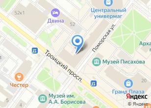 Компания «Добродел» на карте