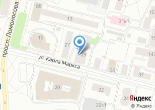 Компания «Севжилстрой» на карте