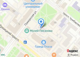 Компания «Весь мир» на карте