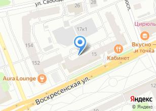 Компания «Строящийся жилой дом по ул. Воскресенская» на карте