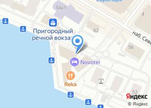 Компания «Форум Нева» на карте