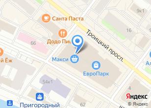 Компания «Строящееся административное здание по ул. Троицкий проспект» на карте
