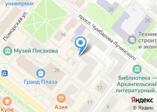 Компания «Аквилон-Инвест» на карте