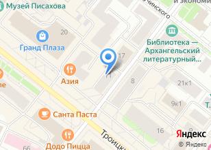 Компания «Флорист.ру» на карте