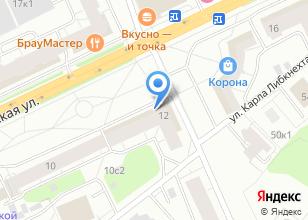 Компания «Мастер Профи» на карте