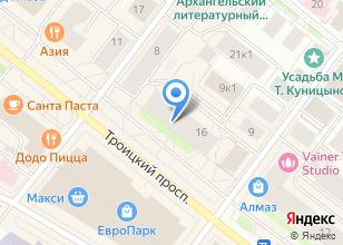 Компания «Империя тканей» на карте