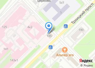 Компания «Аквасеть» на карте