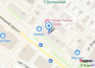 Компания «Премиум-Трэвэл» на карте
