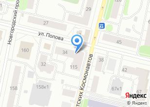 Компания «Флористерия» на карте