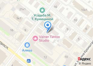 Компания «МЕГАтранс Архангельск» на карте