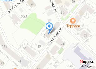 Компания «БаренцТрансСервис» на карте