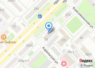 Компания «Билд Групп» на карте