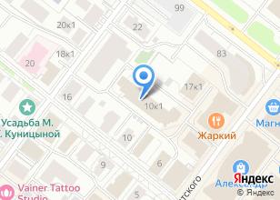 Компания «Многогранник» на карте
