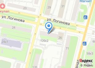 Компания «Магазин цветов на ул. Логинова» на карте