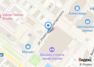 Компания «Эглайт» на карте